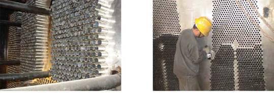 凝汽器换管安装