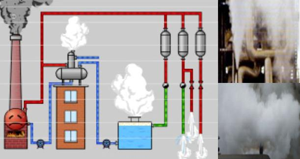 除氧器乏汽回收系统图